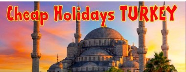 Cheap holidays Turkey
