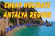 Cheap Holidays Antalaya region, Turkey