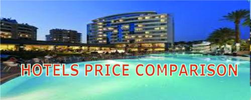 Hotel price comparison