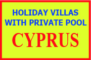 Holiday villas with private pool in Cyprus