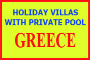 Vacation rental villas with private pool