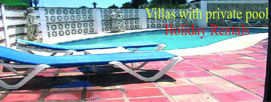 VILLAS WITH OWN POOL - BOOK NOW FOR  2021/2022